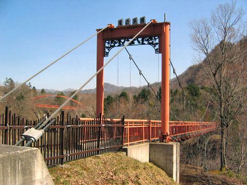滝の吊橋1