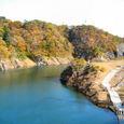 塩原ダム湖